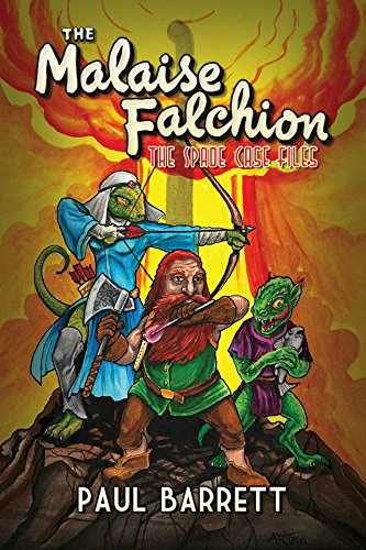Cover to The Malaise Falchion