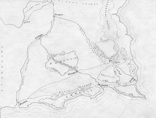 Whisper of Death Original Map